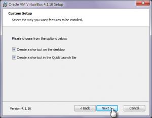ярлык virtualbox