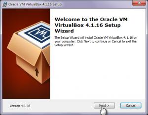установка virtualbox