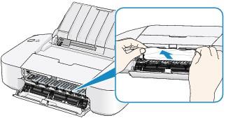 застряла бумага в принтере