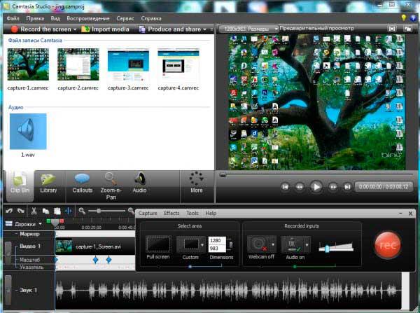 скачать программу для записи видео для компьютера бесплатно - фото 5